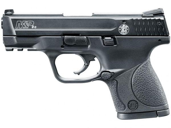 smith wesson m p 9c schreckschusspistole mit einem 12. Black Bedroom Furniture Sets. Home Design Ideas