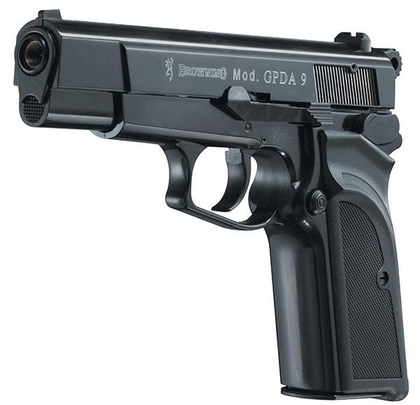 browning gpda 9 gaspistole schreckschusspistole kaliber 9. Black Bedroom Furniture Sets. Home Design Ideas