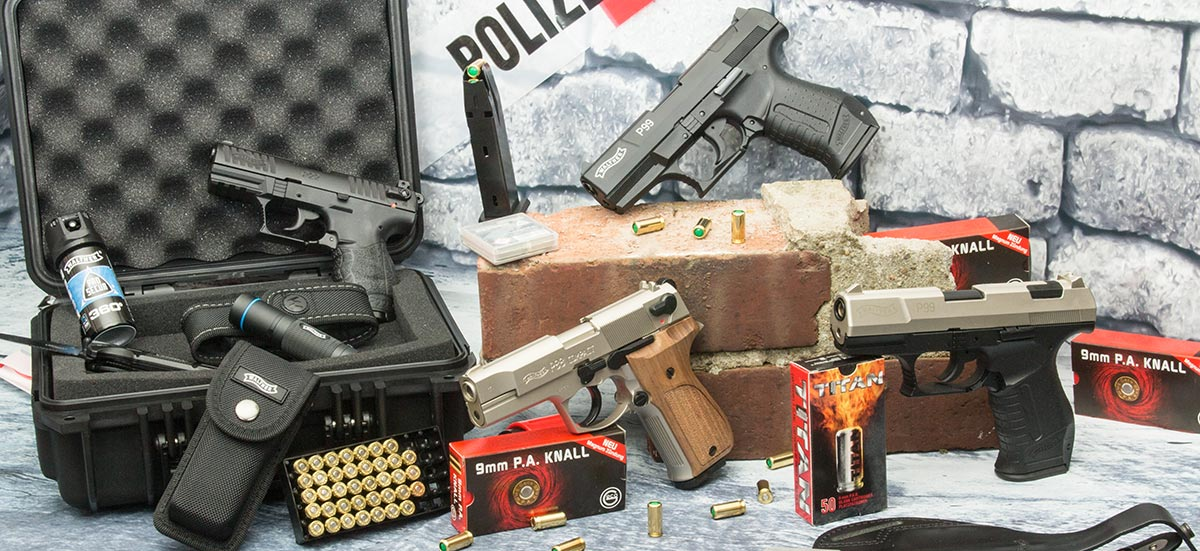 walther p99 schreckschusspistole und gaspistole. Black Bedroom Furniture Sets. Home Design Ideas